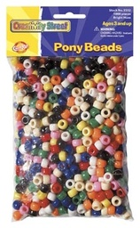 [AC3552 PAC] 1000ct Pony Beads