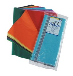 [59530 PAC] 12x18 Assorted Tissue 100 Sheets        Pack