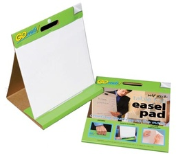 [TSP1615 PAC] 25sht 16x15 GoWrite Self Stick Tabletop Easel Pad