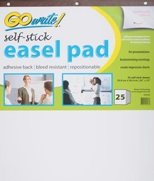 [SP2023 PAC] 25sht 20x23 GoWrite Self Stick Easel Pad