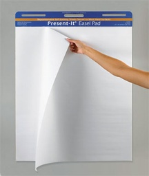 [104390 PAC] 25sht 27in x 34in Present It Easel Pad