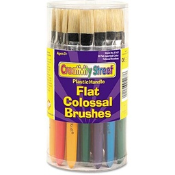 [AC5167 PAC] 30ct Assorted Flat Stubby Brushes
