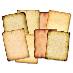 [15286 R] 32ct Antique Art Paper Pack