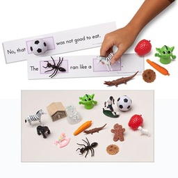 [5281 PC] 3D Sight Word Sentences with Real Life Objects Gr K