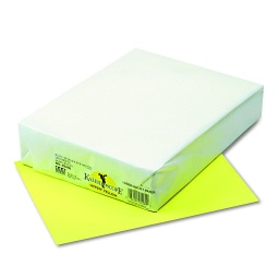 [102200 PAC] 500ct 8.5x11 Hyper Yellow Multi Purpose Paper