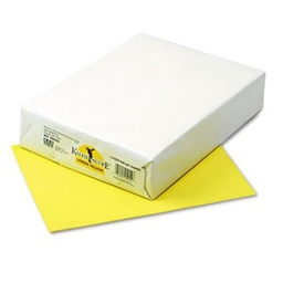 [102055 PAC] 500ct 8.5x11 Lemon Yellow Multi Purpose Paper