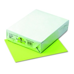 [102053 PAC] 500ct 8.5x11 Lime Multi Purpose Paper