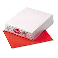 [102054 PAC] 500ct 8.5x11 Rojo Red Multi Purpose Paper