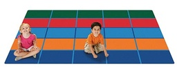 [7291 CFK] Color Blocks Value Seating Rug 6ft x 9ft Rectangle
