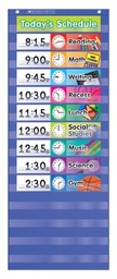 [511498 SC] Daily Schedule Pocket Chart Kit