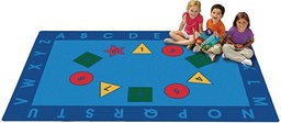 [9682 CFK] Early Learning Value Rug 8ft x 12ft Rectangle