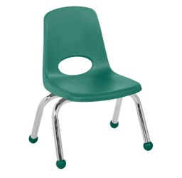 [0192GN ELR] Green 10 inch Stacking Chair Each
