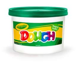 [570015044 BIN] Green Crayola Dough 3lb Bucket