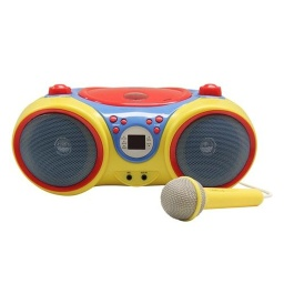 [KIDSCD30 HE] Kids Colorful Boom Box
