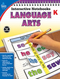 [104651 CD] Language Arts Interactive Notebooks Gr K