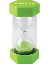 [20660 TCR] Large Five Minute Sand Timer